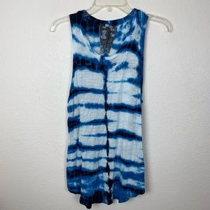 Young Fabulous & Broke Cody Tie Dye Tank Top Tunic